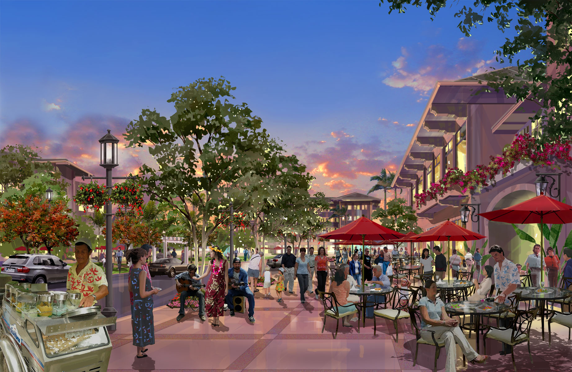 Retail Development, Koa Ridge, HI