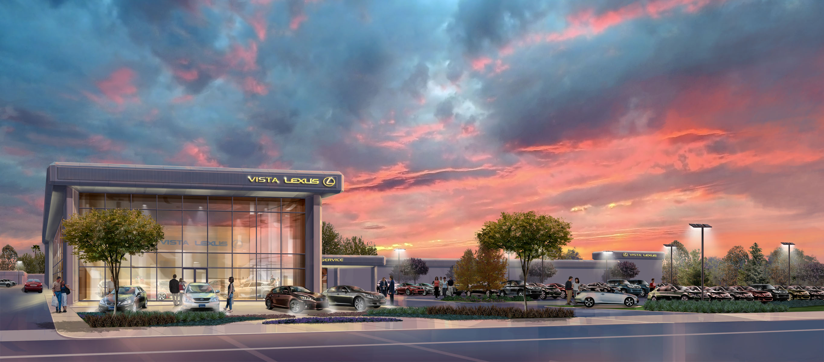 Vista Lexus Woodland Hills, CA