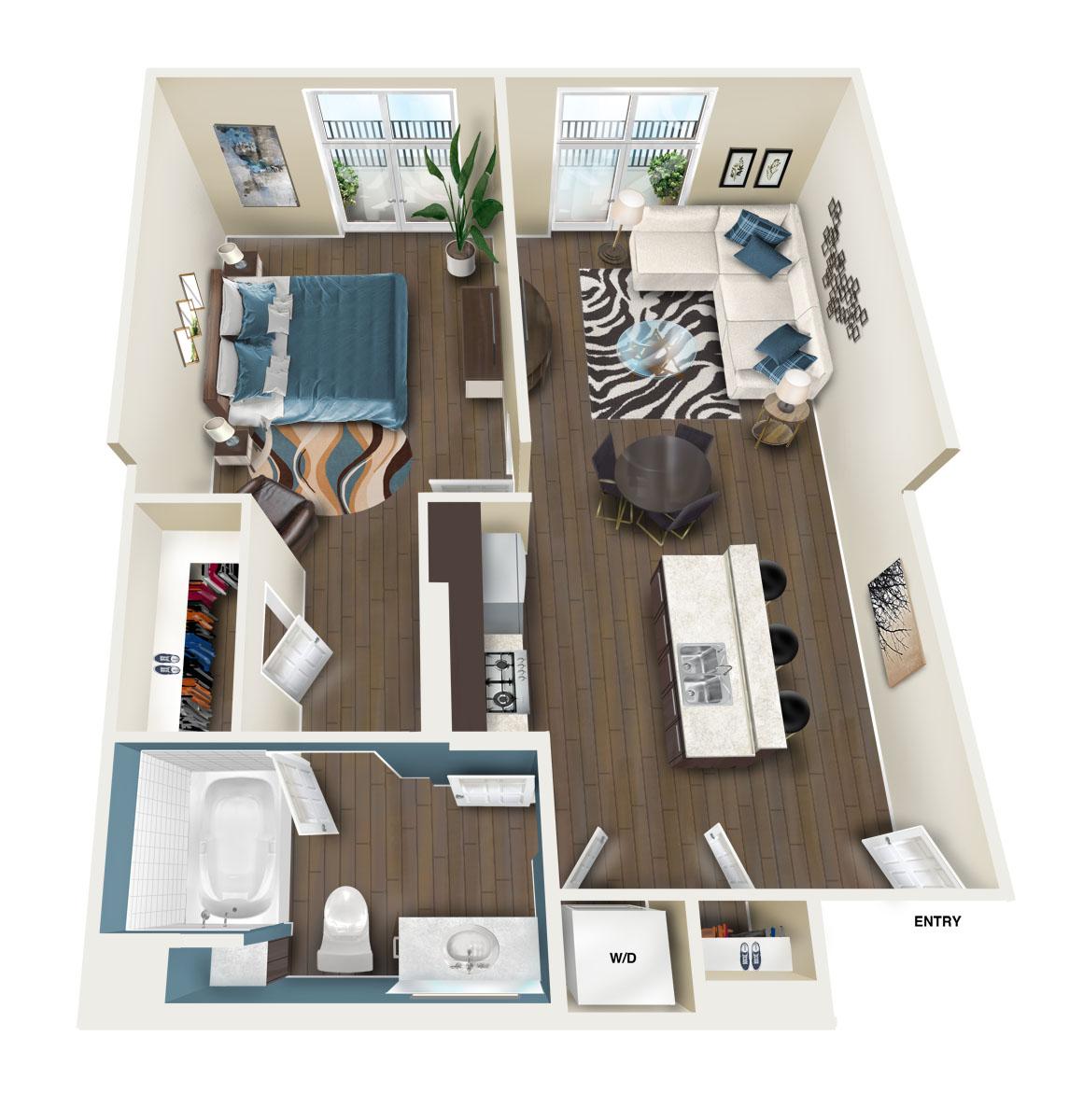Monticello Floor Plan Valencia, CA