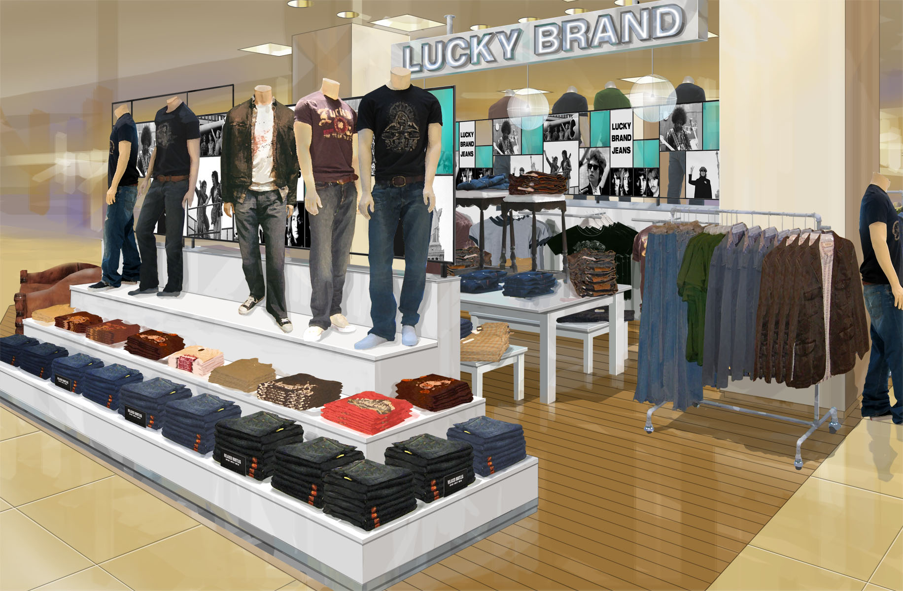 Lucky Brand Jeans Los Angeles, CA