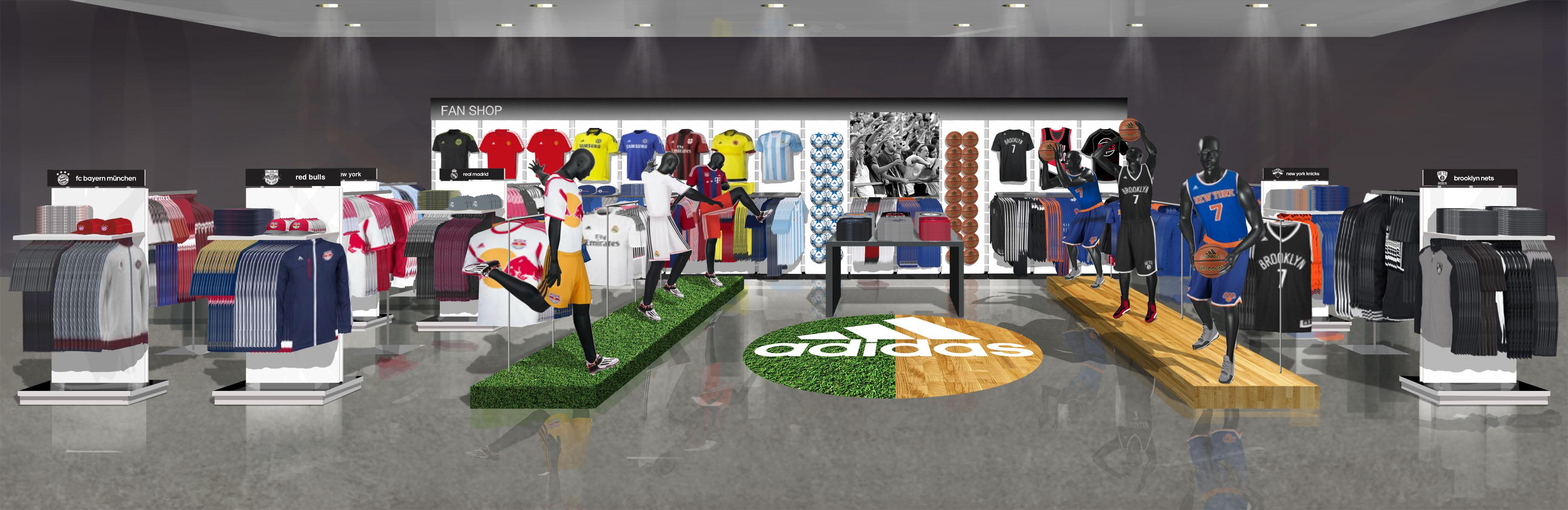 Adidas Fan Shop Portland, OR