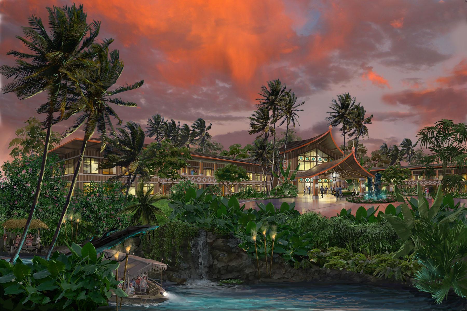 Polynesian Paradise Hotel, Eco Park India