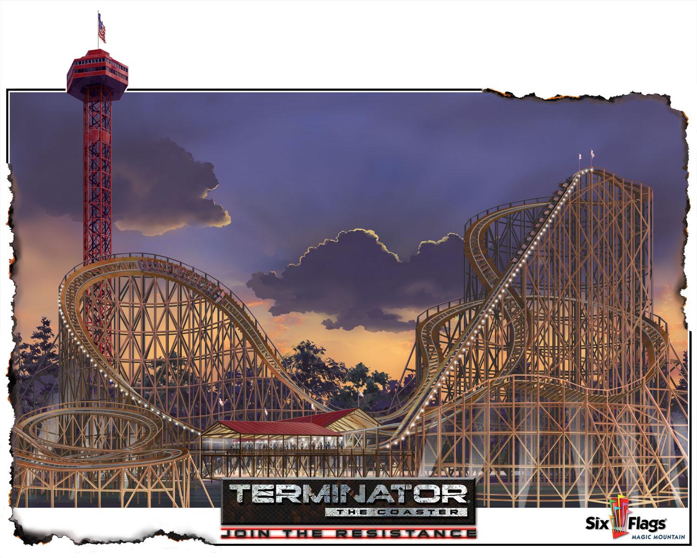 Terminator, Six Flags Magic Mountain Valencia, CA