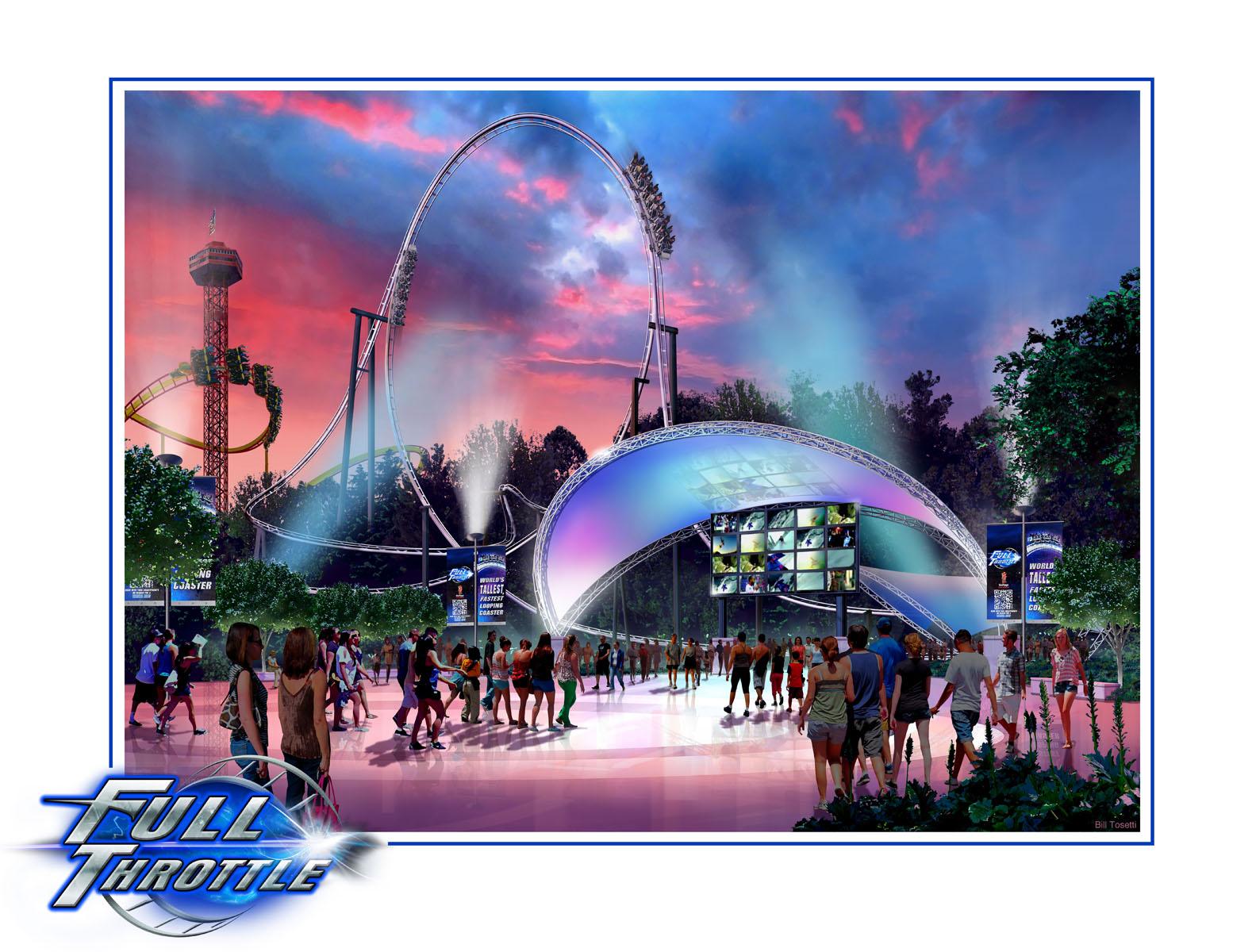 Full Throttle, Six Flags Magic Mountain Valencia, CA
